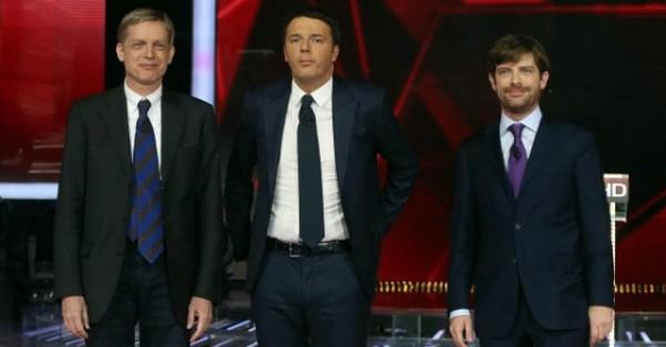 Primarie Pd, confronto tv tra i candidati segretari