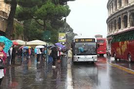 A Roma pioggia e conseguente scontro politico