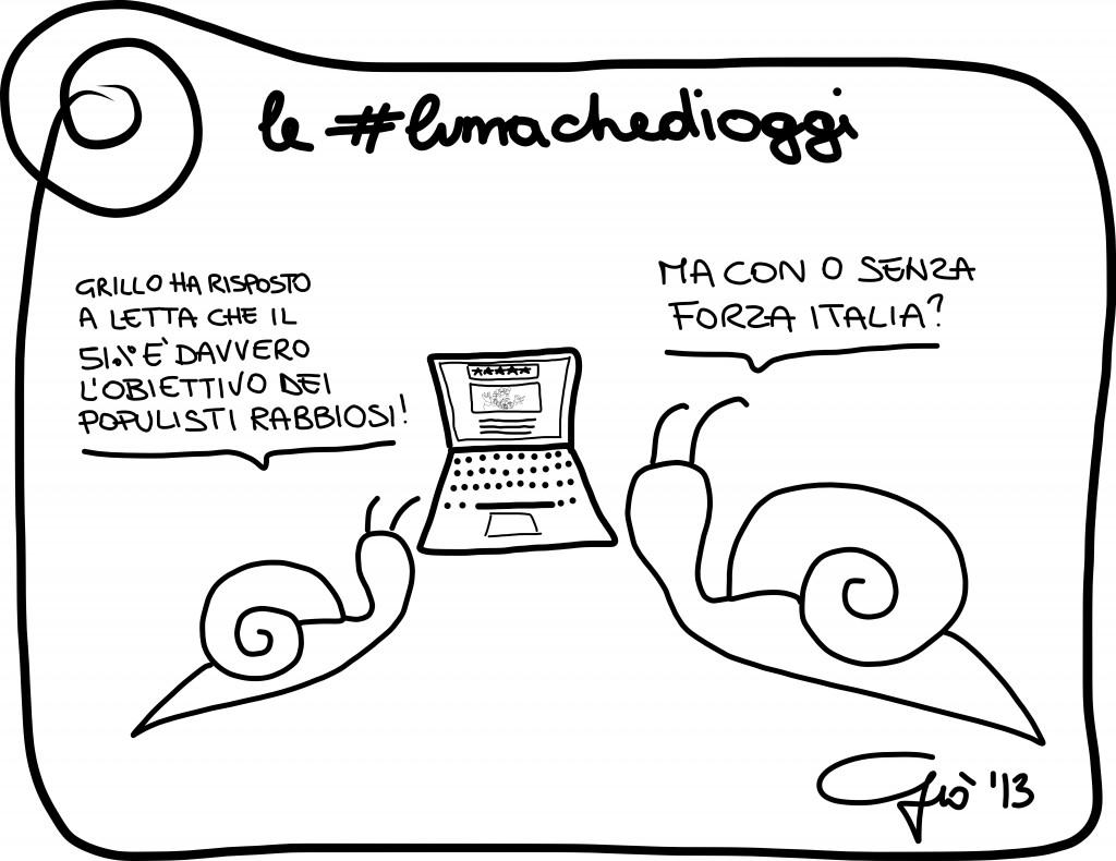 #lumachedioggi: populisti di Giovanni Laccetti del 25.11.2013