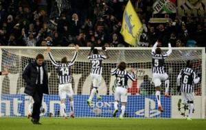 Juventus Stadium in festa