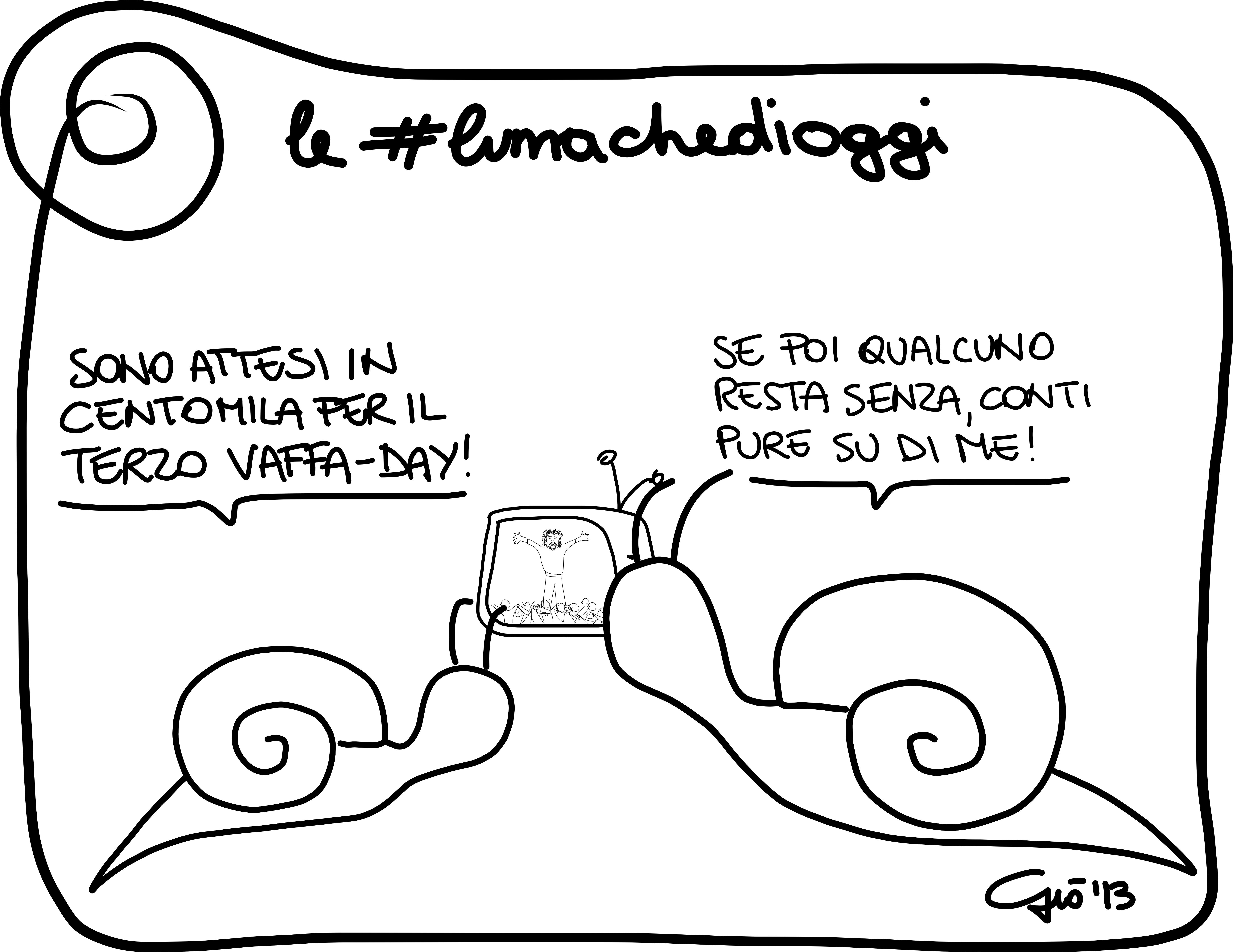#lumachedioggi di Giovanni Laccetti del 1.12.2013