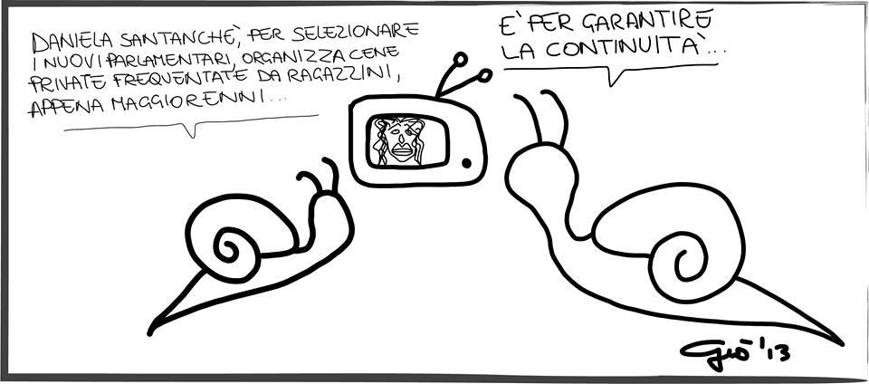 vignetta santanchè