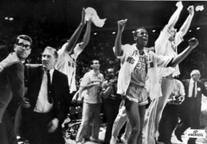 Foto storica di un trionfo storico