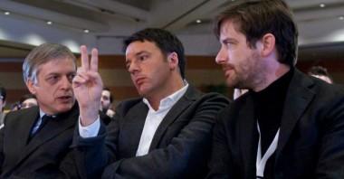Civati Cuperlo Renzi primarie pd