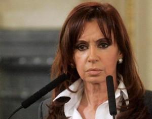 "La ""Presidenta"" argentina, Cristina Kirchner"