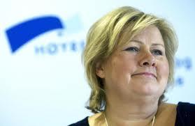 Erna solberg, primo ministro norvegese