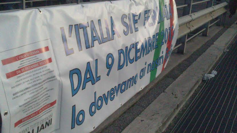 Forconi a Roma, partecipano anche Casapound e Forza Nuova