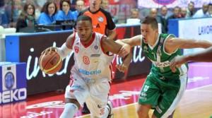 Keydren Clark: 34 punti contro Bologna