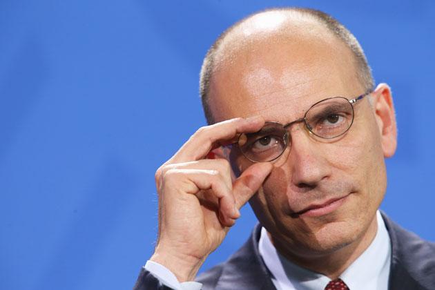 Dimissioni, Letta da Napolitano
