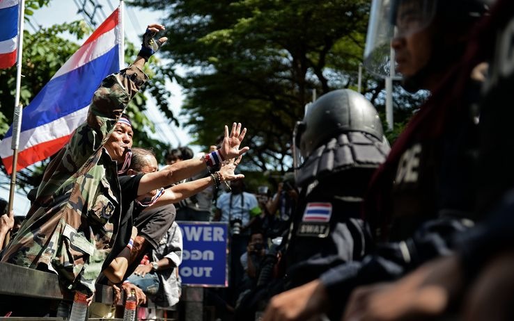 Proteste in Thailandia