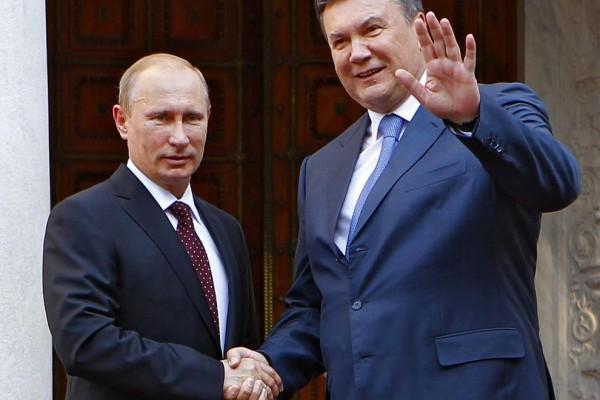 Putin e Yanukovich