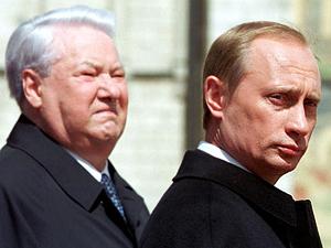 Putin ed Eltsin