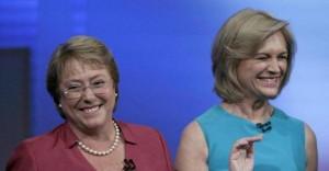 Bachelet e Matthei