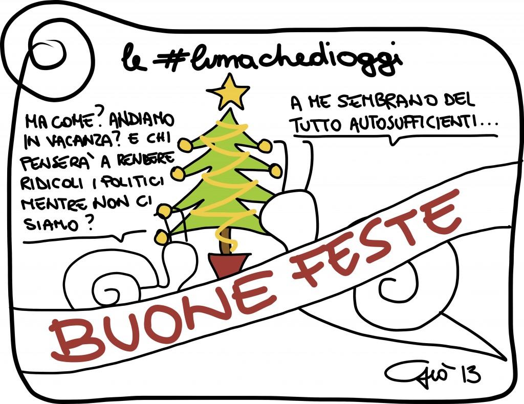 #lumachedioggi di Giovanni Laccetti del 24.12.2013