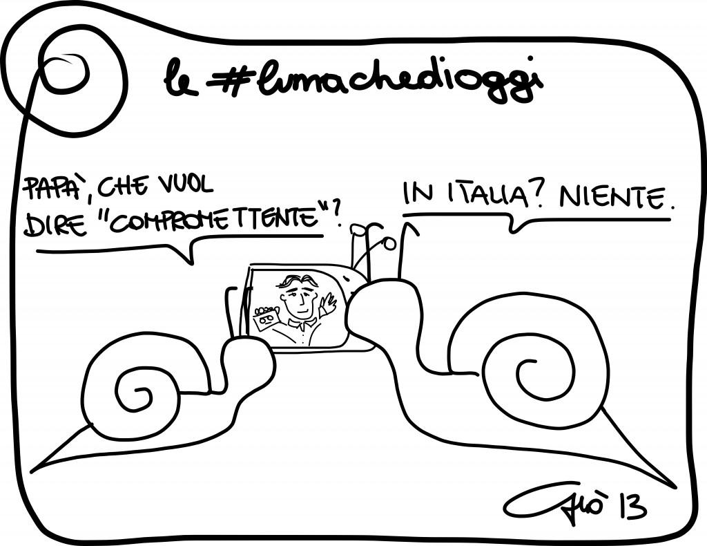 #lumachedioggi di Giovanni Laccetti del 21.12.2013