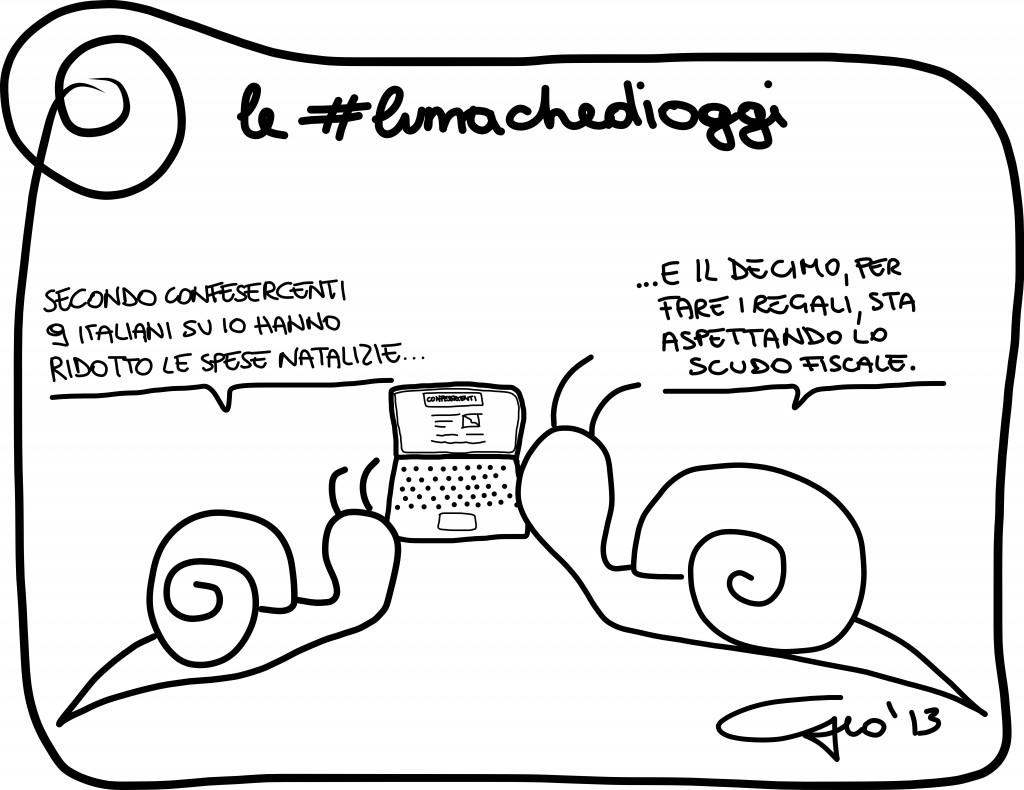 #lumachedioggi di Giovanni Laccetti del 3.12.2013