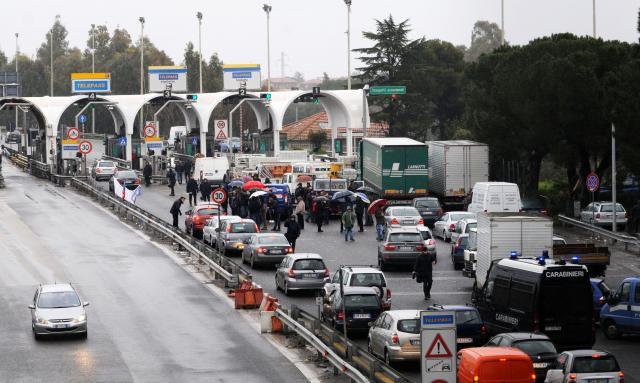 Forconi, testimonianza diretta dalla provincia di Torino