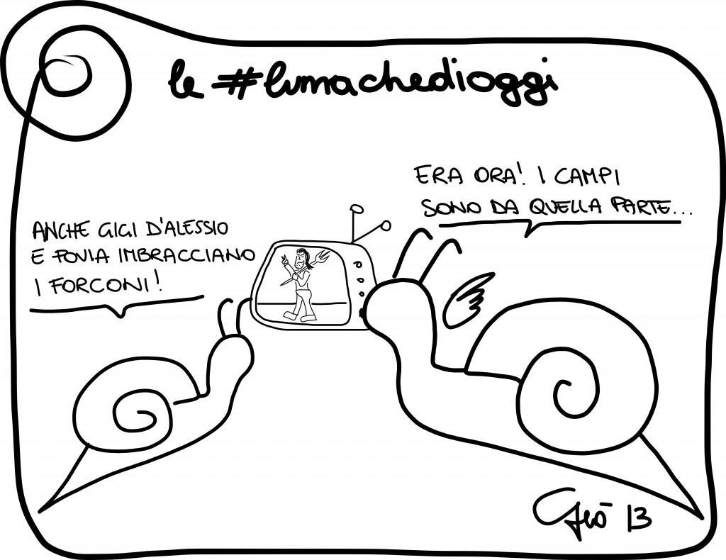 #lumachedioggi di Giovanni Laccetti del 14.12.2013