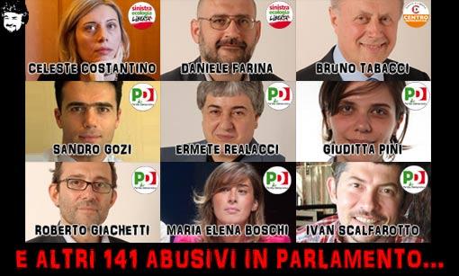 """Grillo, fuori i """"150 abusivi in Parlamento"""" eletti col premio di maggioranza"""