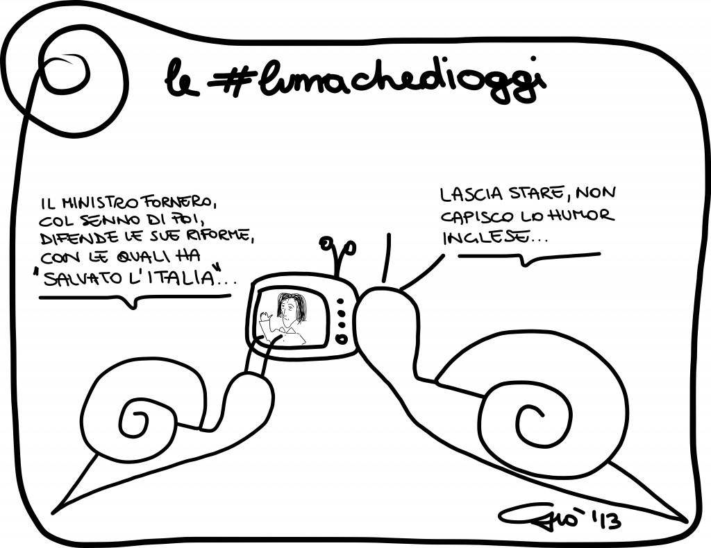 #lumachedioggi di Giovanni Laccetti del 2.12.2013