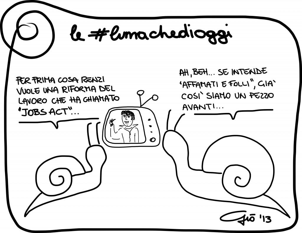 #lumachedioggi di Giovanni Laccetti del 4.12.2013