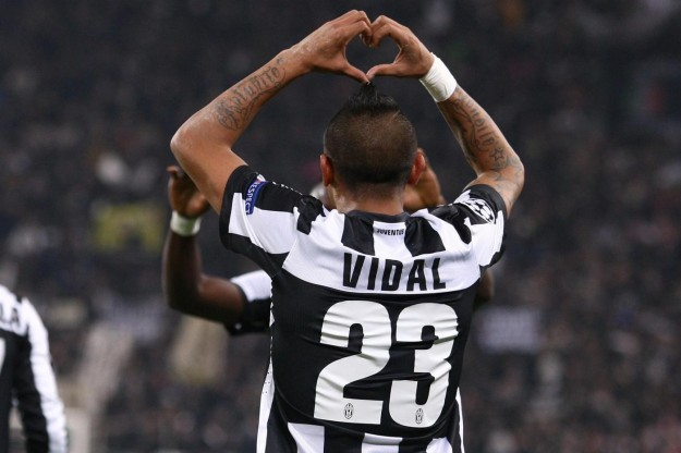 Vidal e la Juve volano