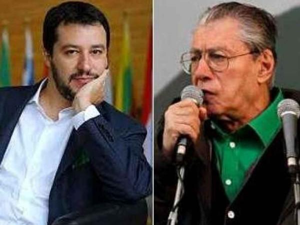Primarie Lega, sfida Bossi Salvini