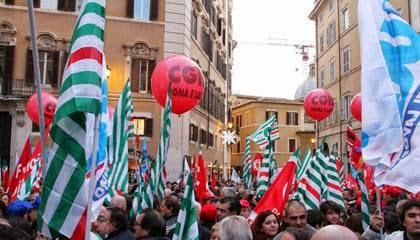 Legge stabilita', protestano i sindacati