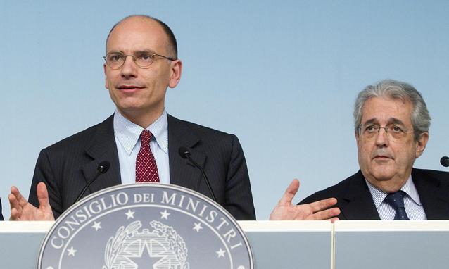 """Economia, Ministro Saccomanni """"Senza Berlusconi facilitate le riforme"""""""
