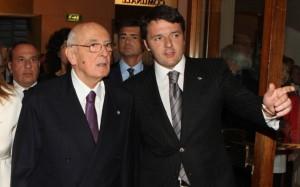 Possibile alleato per Renzi, Napolitano