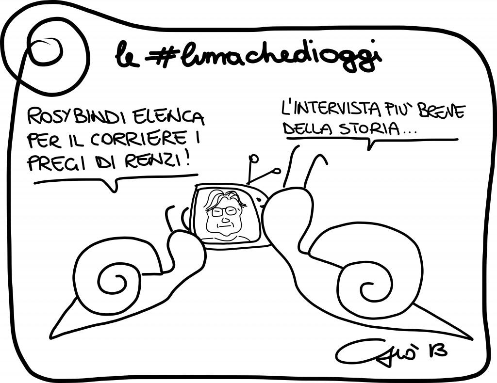 #lumachedioggi di Giovanni Laccetti del 12.12.2013