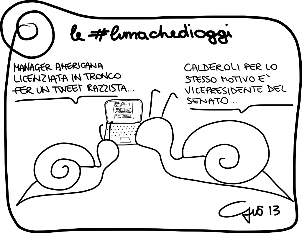 #lumachedioggi di Giovanni Laccetti del 22.12.2013