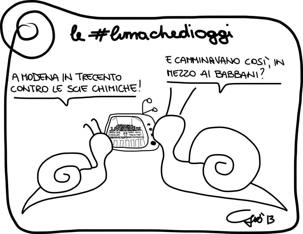 #lumachedioggi di Giovanni Laccetti del 23.12.2013