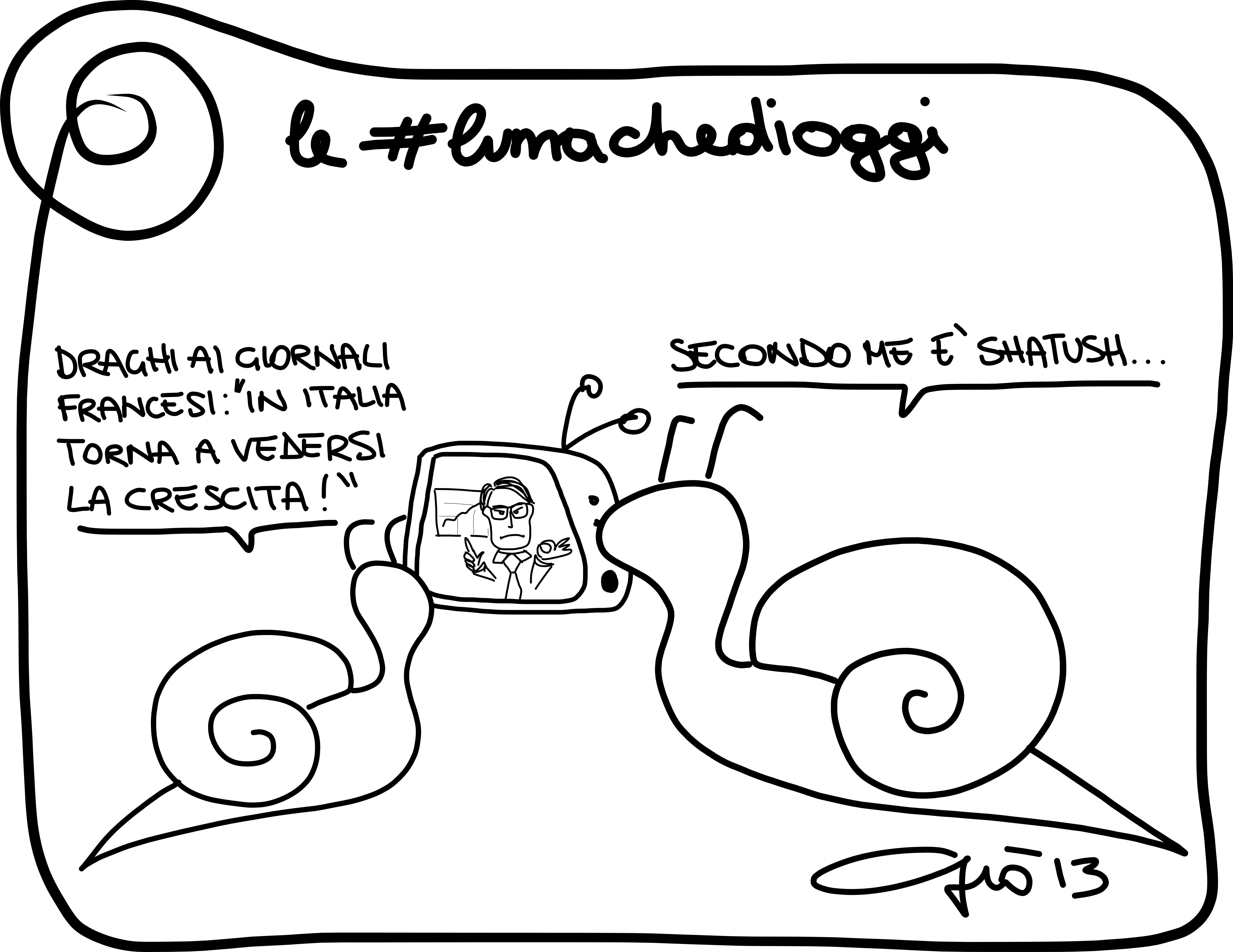 Le #lumachedioggi: shatush.