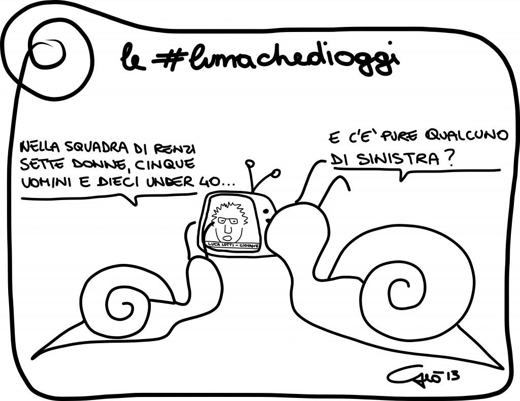 #lumachedioggi di Giovanni Laccetti del 10.12.2013