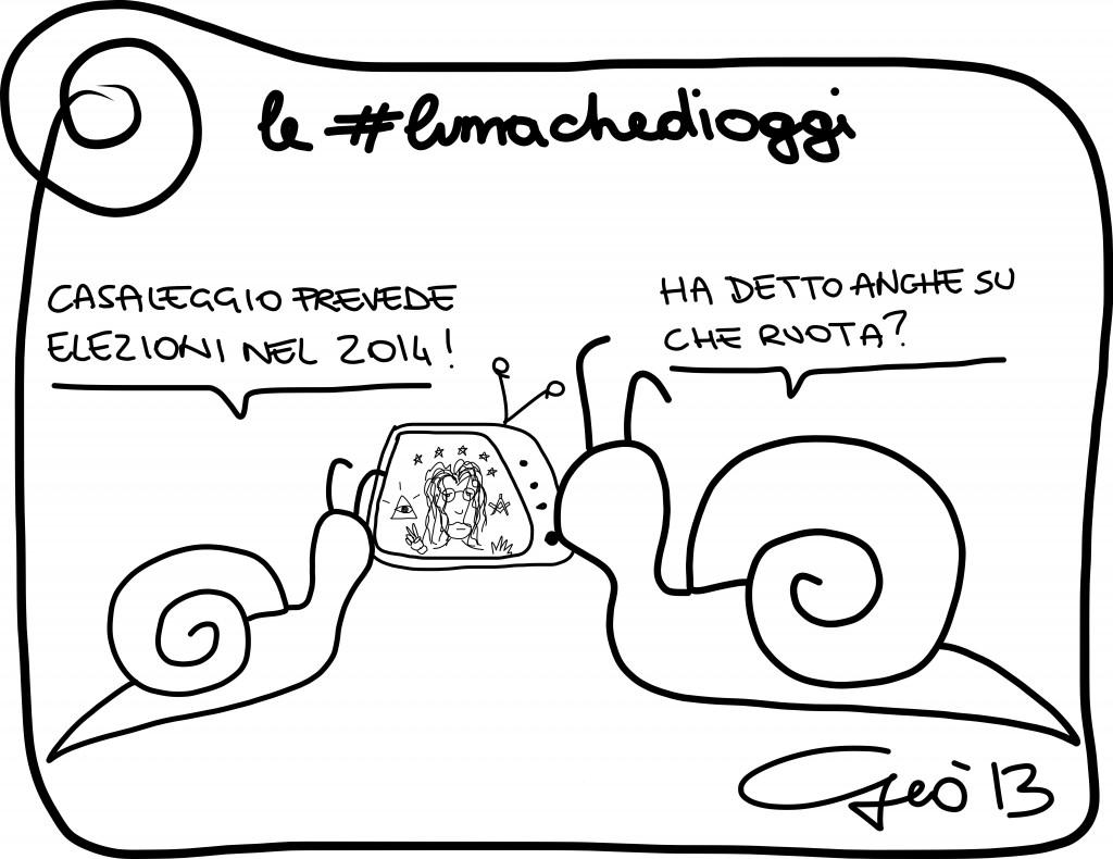 #lumachedioggi di Giovanni Laccetti del 20.12.2013