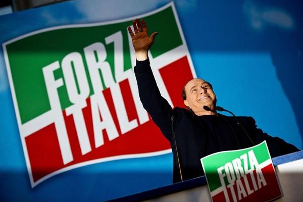 """Forza Italia Berlusconi Forza Italia Berlusconi no a coordinatore unico Berlusconi: """"Dobbiamo puntare al 36%""""no a coordinatore unico"""