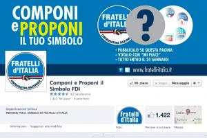 primarie simbolo fratelli d'italia