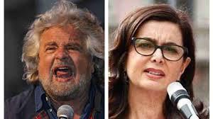 M5S, Beppe Grillo lancia l'hashtag #Boldriniacasa