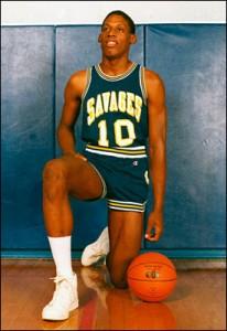 Rodman ai tempi del college