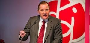 Stefan Löfven, leader del partito socialdemocratico norvegese