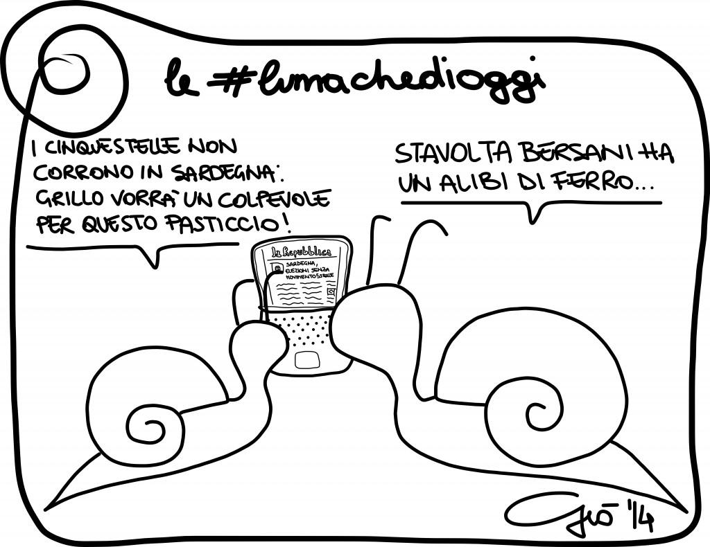 #lumachedioggi di Giovanni Laccetti del 7.1.2014