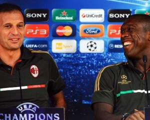 Allegri e Seedorf