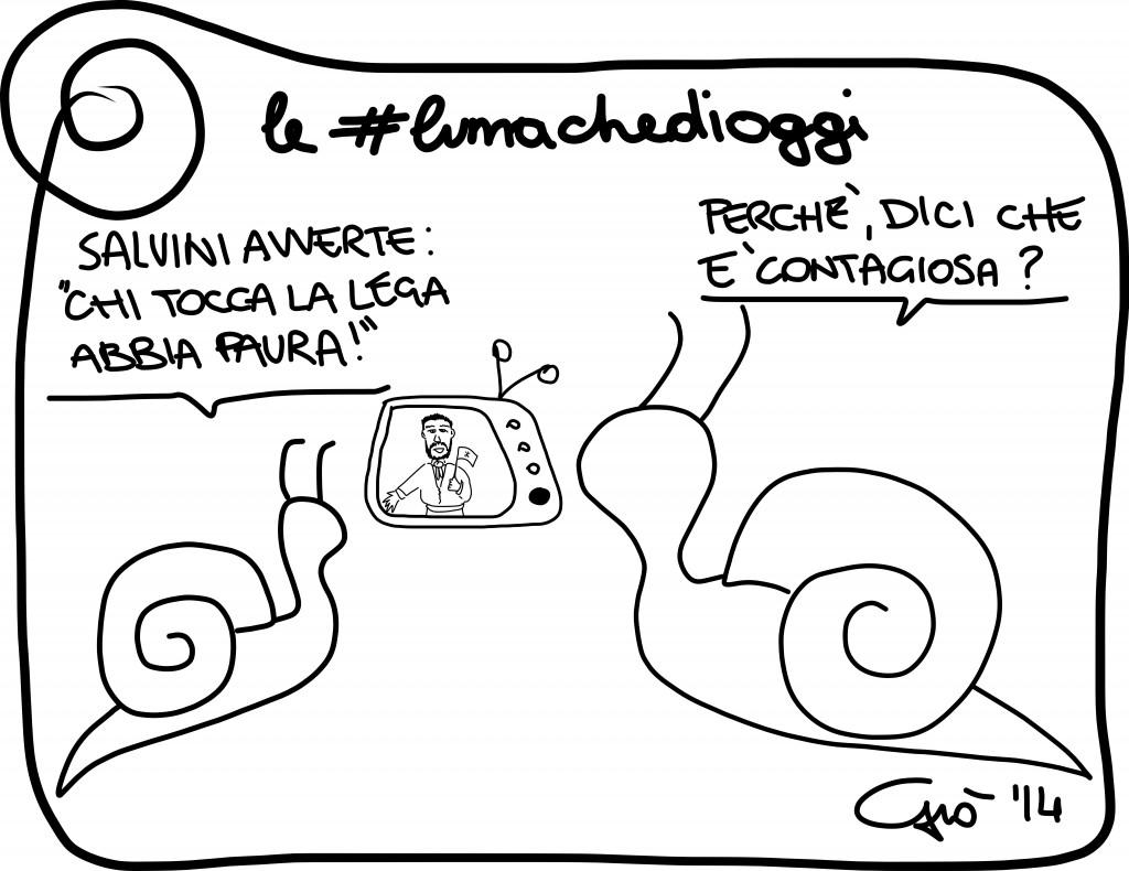#lumachedioggi di Giovanni Laccetti del 12.1.2014