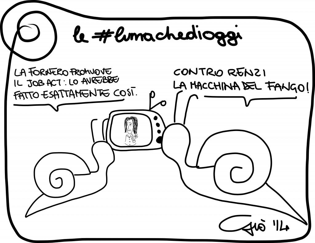 #lumachedioggi di Giovanni Laccetti del 10.1.2014
