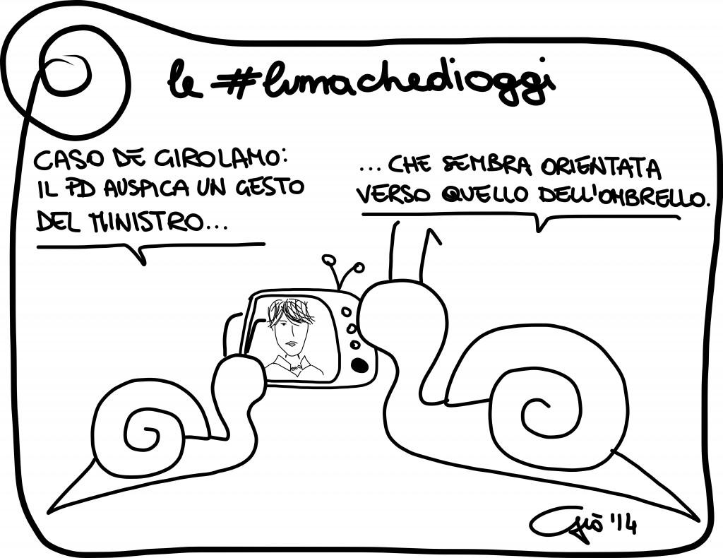 #lumachedioggi di Giovanni Laccetti del 18.1.2014