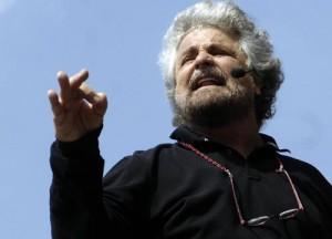 Beppe Grillo tu scappi, noi facciamo