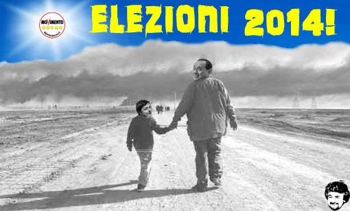 Grillo chiede a Berlusconi e Renzi di andare alle elezioni