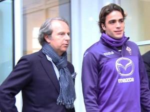 Alessandro Matri, passato dalla lista UEFA del Milan a quella della Fiorentina
