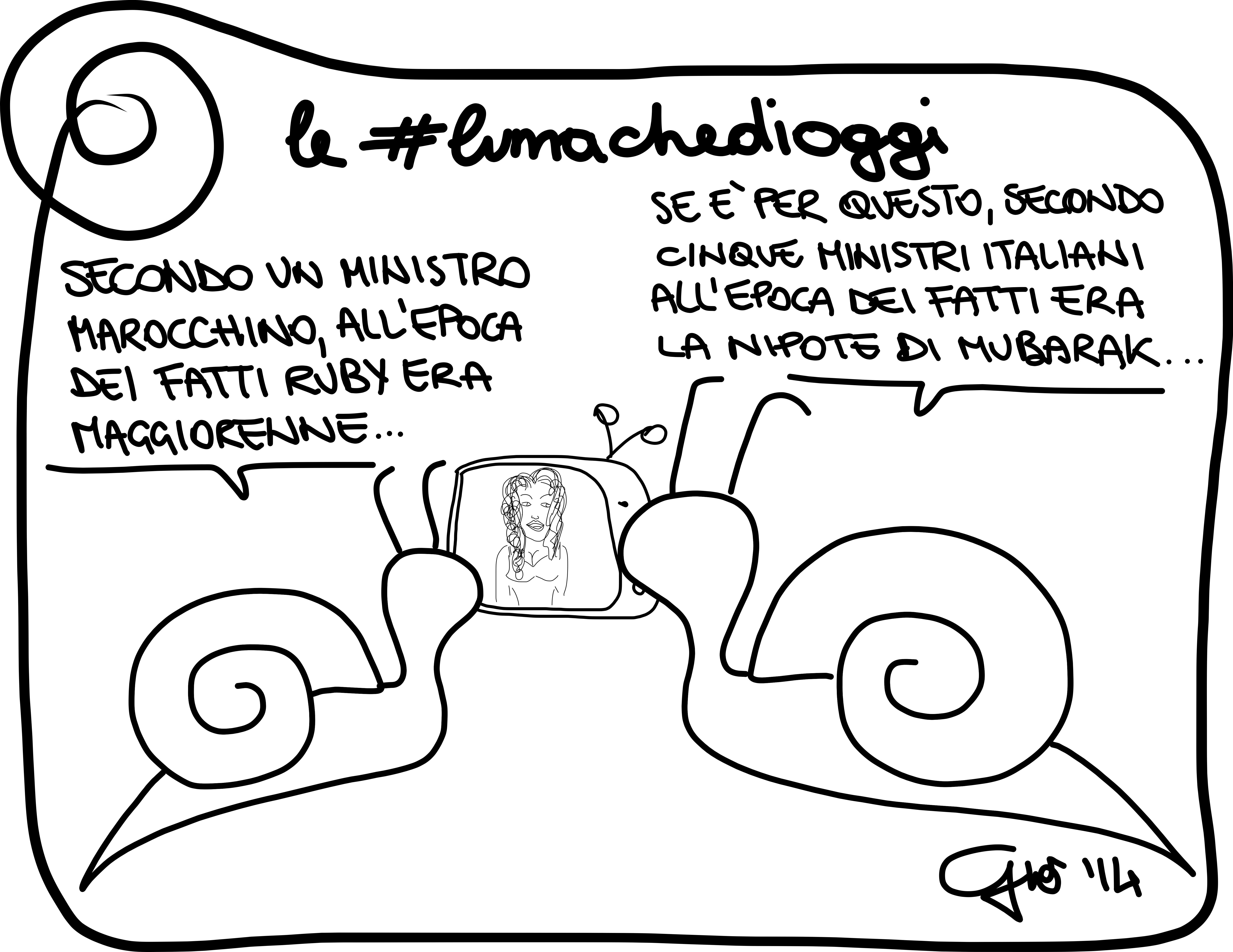 #lumachedioggi di Giovanni Laccetti del 28.1.2014